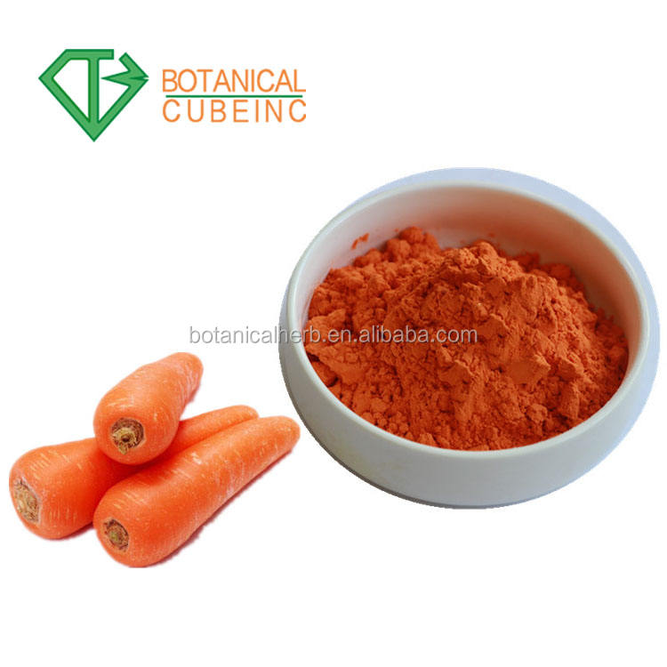 Natural plant extract pigment beta-Carotene, beta carotene powder price