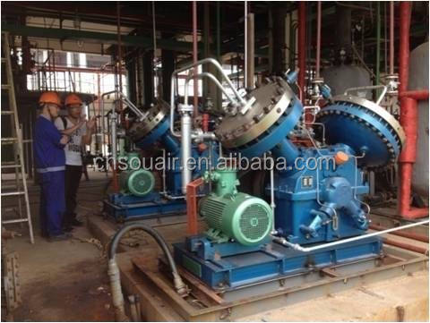 100% Oil-free 803Nm3/h 380 V 50Hz Alta Pressão 120Bar Disaphragm Compressor de Etileno vendas Quentes
