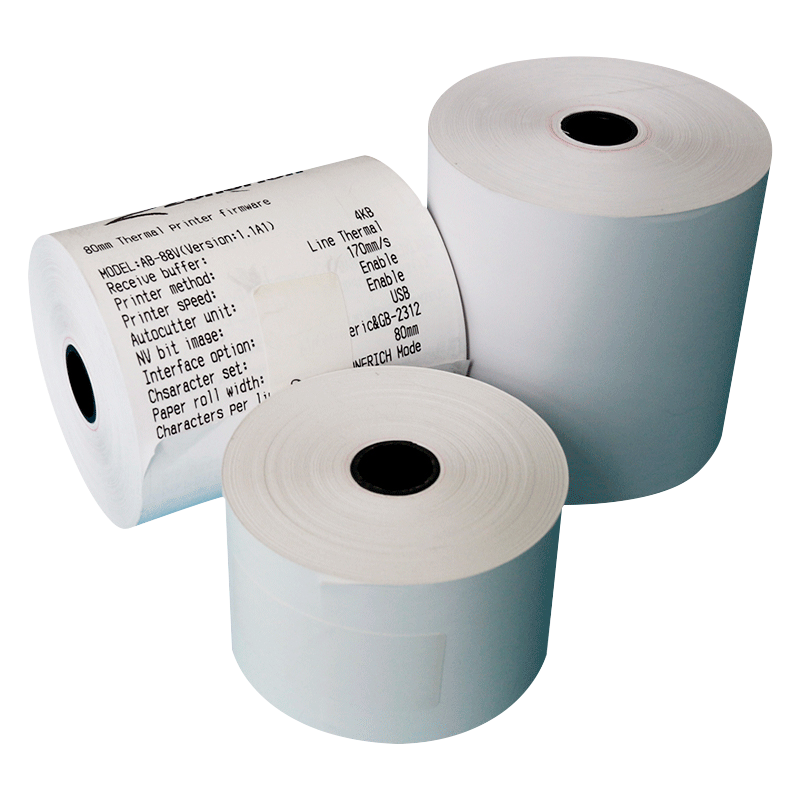 High quality printer thermal paper 56mm 80 x 80 thermal paper rolls