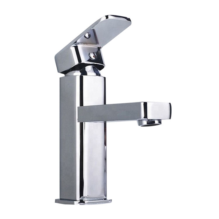 Hight quality sanitary ware zinc single cold water bathroom basin sink faucet