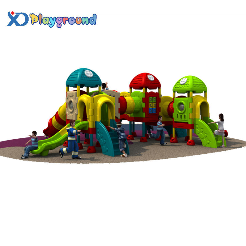 SGS Widely Used Children Plastic Swing Outdoor Playground Equipment