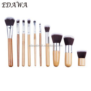 High quality synthetic bamboo brushes makeup kit