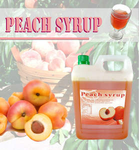 peach concentrate bubble tea juice syrup