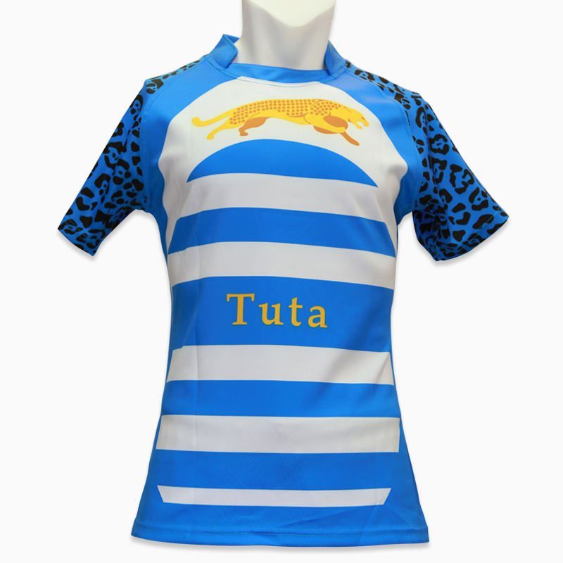 Cheap blue rugby jersey custom rugby shirt,rugby league jersey