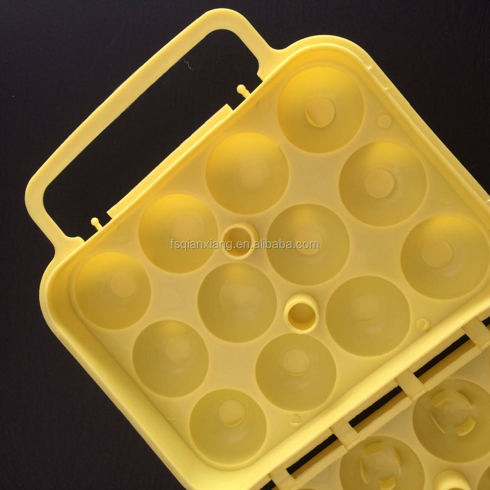 12 egg hard Plastic egg Carrier egg Holder tray