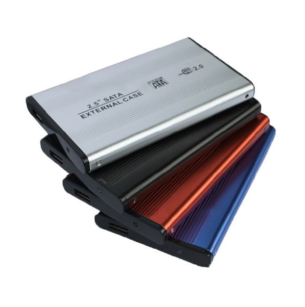 Ad alta Velocità SATA 2.5 pollice USB 2.0 External HDD Hard Disk Drive HD Enclosure/Case Box SATA Hard Drive Enclosure