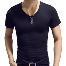 ODM short sleeve plain solid colors soft polyester/cotton basic t-shirt clothing men for on line shopping gym clothes men