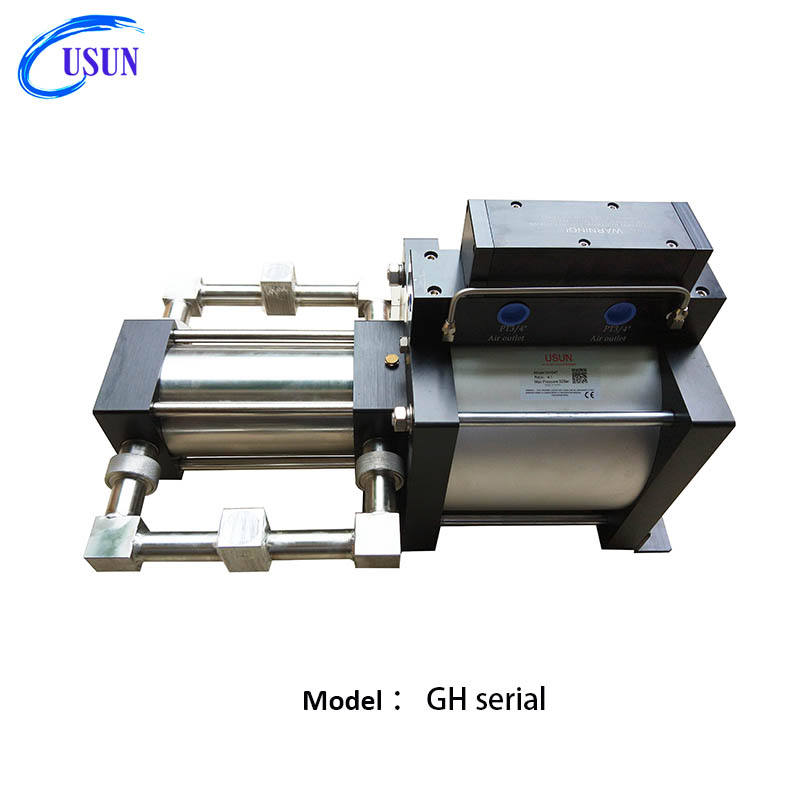 USUN Model:GH 250mm pneumatic driven liquid power pump for chemical injection
