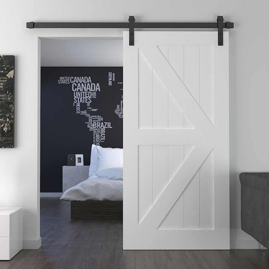 American Style Mirrored Interior Sliding Barn Doors