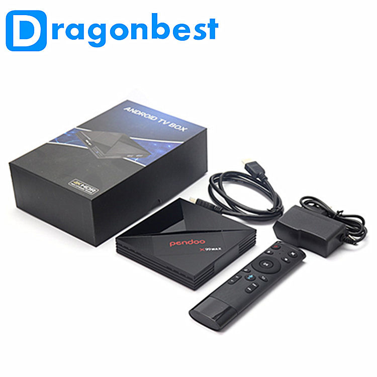 Cable TV pendoo x99 Max Rk3399 4G 32G Android 7.1 internet tv Smart TV con HD por satélite receptor