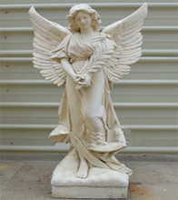 Factory custom OEM/ODM resin large decorative angels