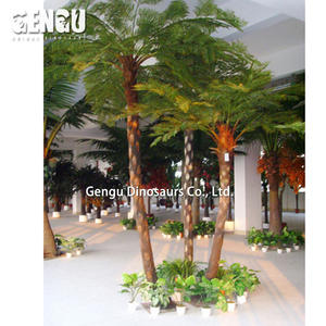 High Quality Life Size Palm Tree Artificial Plants