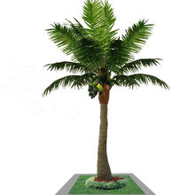 Ornamental palm tree for decorative
