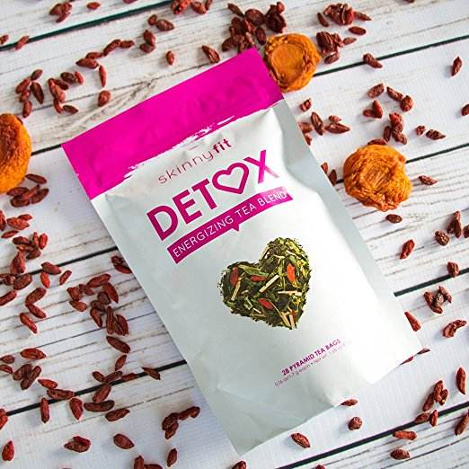 SkinnyFit Detox Tea All Natural Laxative Free A Slimming Way to Release Toxins for Weight Loss Reduce Bloating Boost Metabolism
