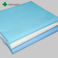 Hubei Xiantao manufacturer dust free workshop produced medical disposable Premium flat cot sheets