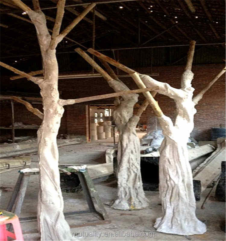 New product 2016 direct manufacturer fake tree trunks artificial tree trunk