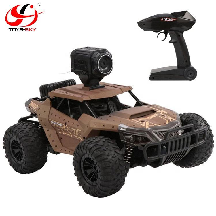Hot sale 2.4G 1/18 Wifi FPV Camera 480P RC radio control Monster truck remote control car for sale