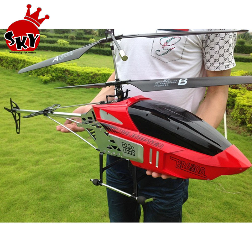 BR6508 rc helicopter BR6508 2.4G 3.5CH Super Large RC Helicopter Biggest Helicopter Light Toy For Children