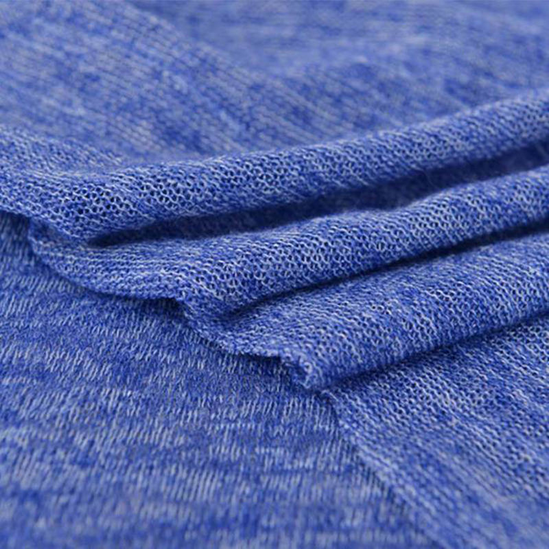 Excellent wholesale knitted t/r dye polyester rayon blend fabric for t-shirts