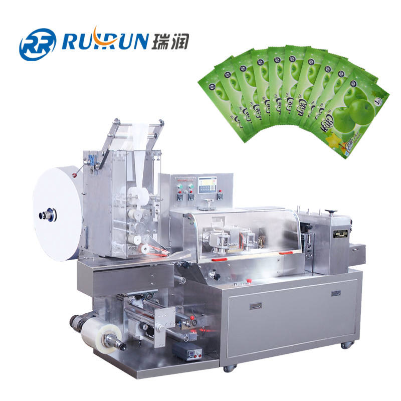 Automatic wet tissue/wet wipes packing machine three side sealing bag automatic machinery