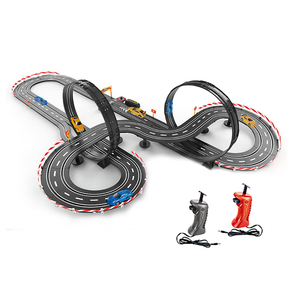 1:43 scale 787cm electric stunt slot toy mini 4wd race track for sale