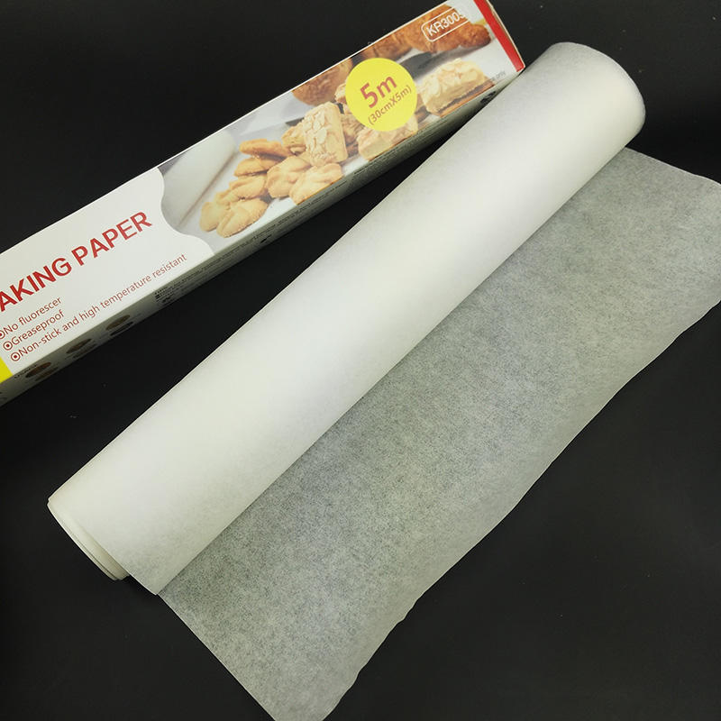 Grease proof White Parchment Paper Baking Rolls