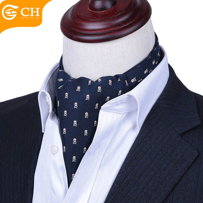 Chunhe Polyester Men's Fashion Ascot Tie Cravat