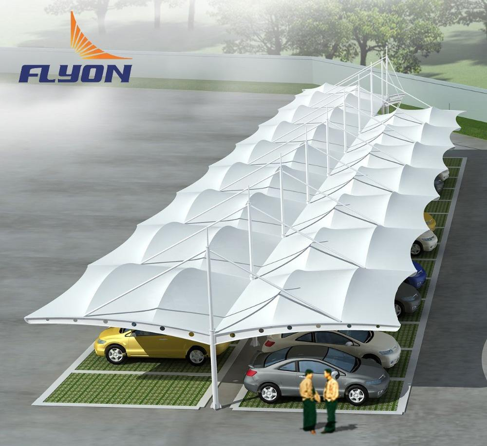 PVDF Tensile Membrane Structure Shade ,swimming pool shade , commercial shade
