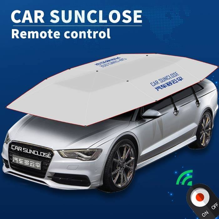 Automatic foldable car sunshade outdoor car tent parking shelter