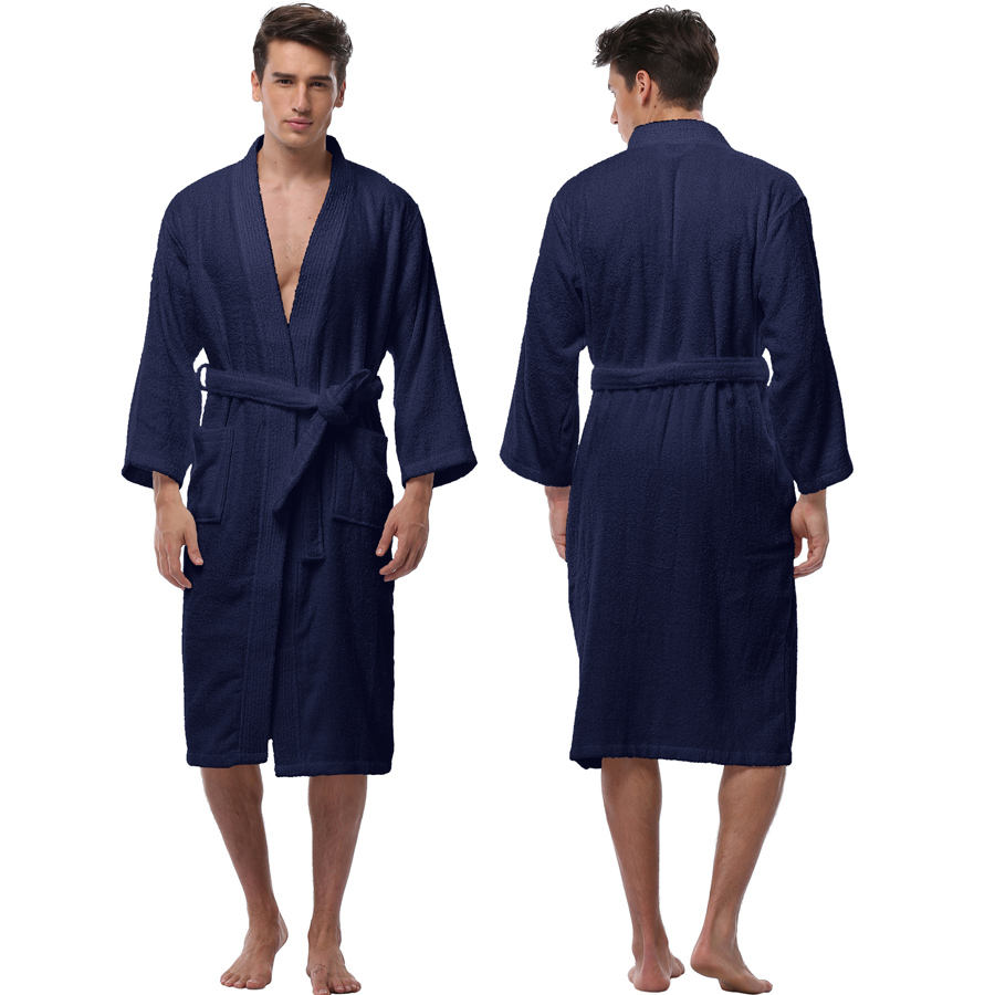 JR624 Low MOQ Luxury 100% Cotton Hotel Spa Collection Bathrobe