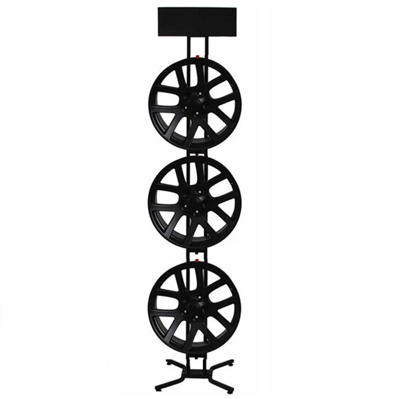 Custom Car Wheel Display Stand Rack for Exhibition and Trade Show