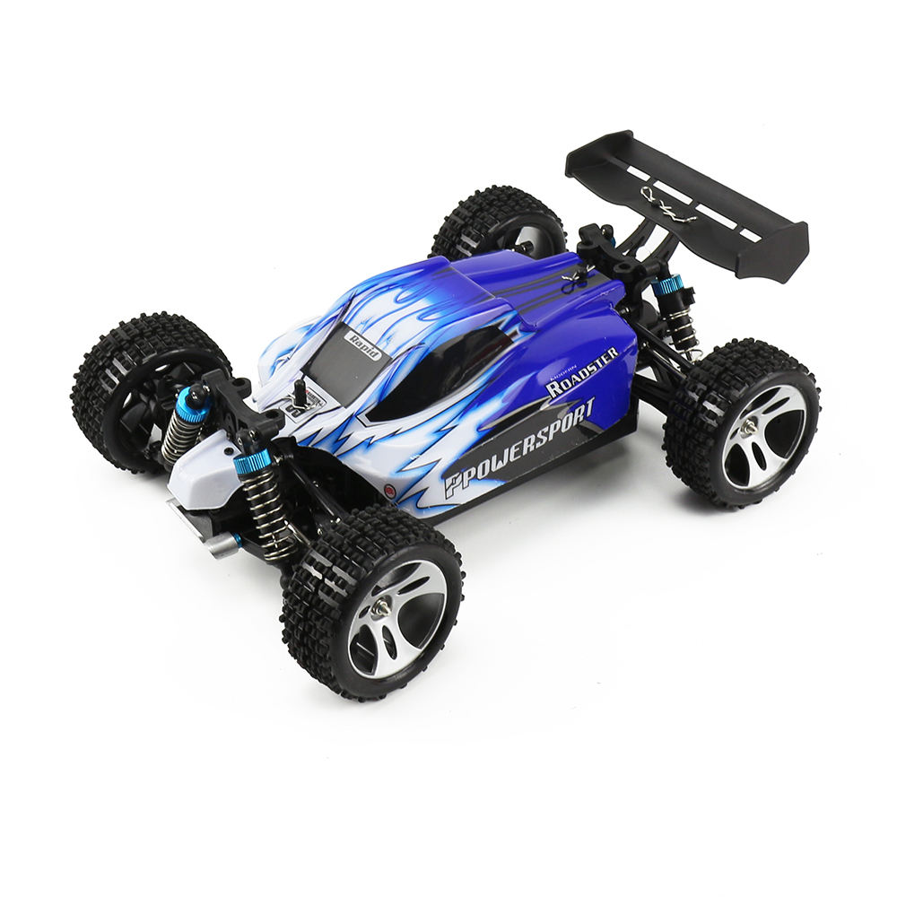 WLtoys A959 4WD RC Balap Kecepatan <span class=keywords><strong>Mobil</strong></span> Remote Control 1/18 2.4G Kereta Kecepatan Tinggi <span class=keywords><strong>Mobil</strong></span> RC