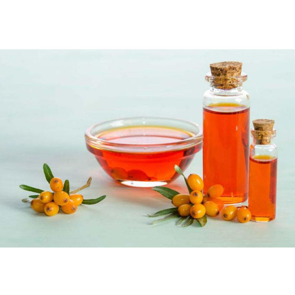 Manufacturer supply wholesale bulk price seabuckthorn fruit oil OEM 100% pure natural organic sea buckthorn seed oil