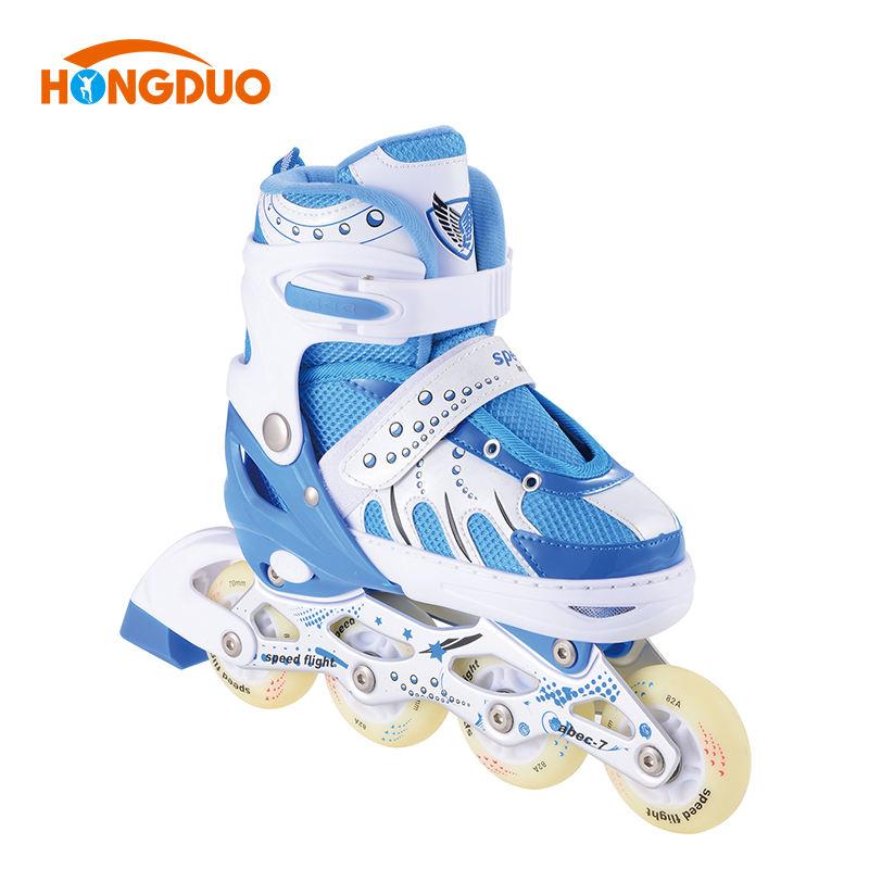 優れた四輪シティーランインライン中国大豆クワッド屋外ローラースピードスケートのため販売女性が製造する