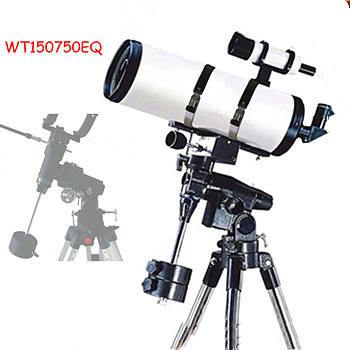 jaxy professional astronomical reflector equatorial Used telescope for Sale WT150750EQ 150x750mm