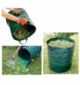 70L , 270L Reusable Garden Bag Leaf Collector with Handles