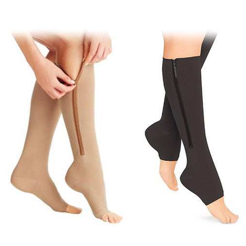 KT-QW-65 KAITE Compression Socks with Ykk Zipper
