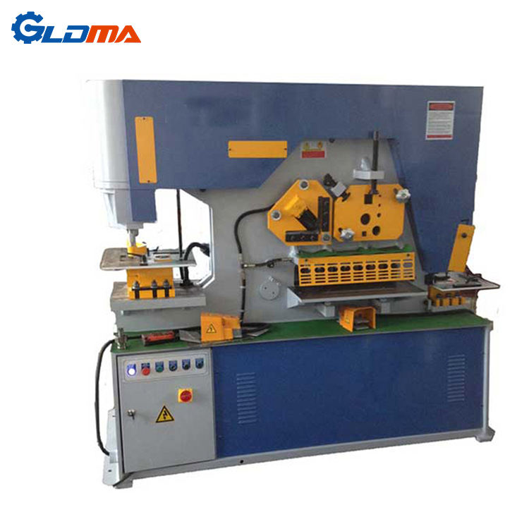 Taiwan sunrise design Q35Y-20 90ton hydraulic ironworker for sale