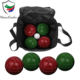 Premium Backyard Resin Bocce Ball Set for Families Complete Bocce Yard and Lawn Games