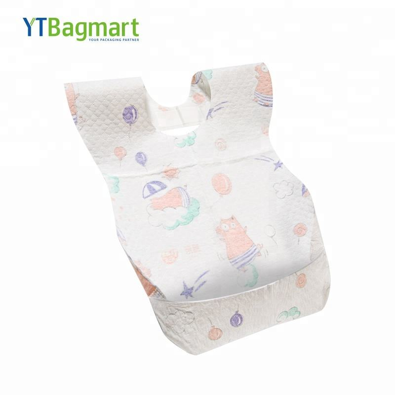 YTBagmart custom printed Non Woven Disposable Baby Bib