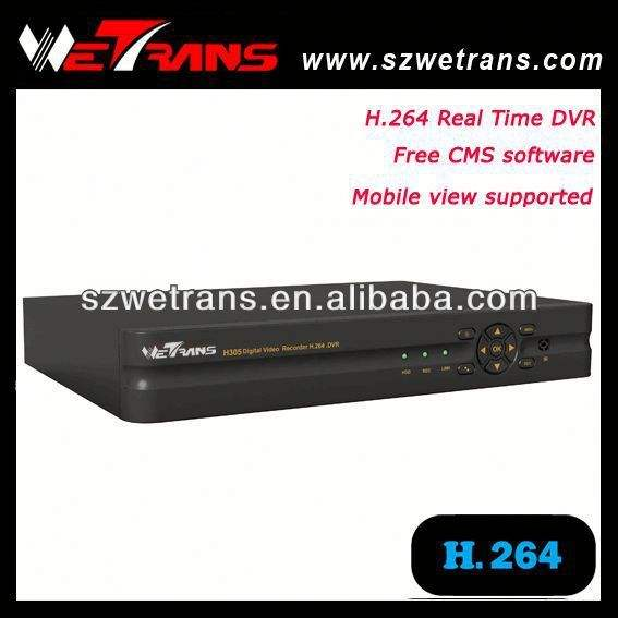 Wetrans TD-5240B completo D1 independiente en tiempo real de la red DVR 264 H servidor