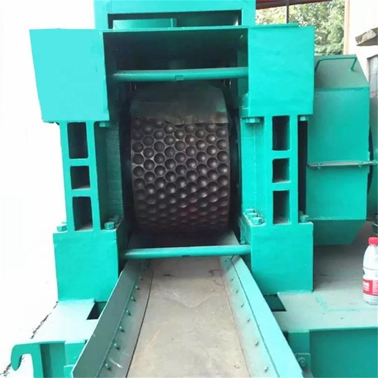 Coal briquettes pressing ball briquetting roller press machine price