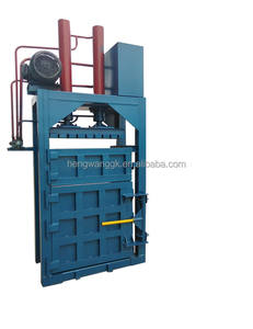 PET Bottle Baler Machine With Hydraulic Compactor ,Plastic Baler ,PET Bottle Baler Machine