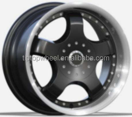 15 inch 5*114.3 5*112 replica TE37 volk flow forming alloy wheels for any cars
