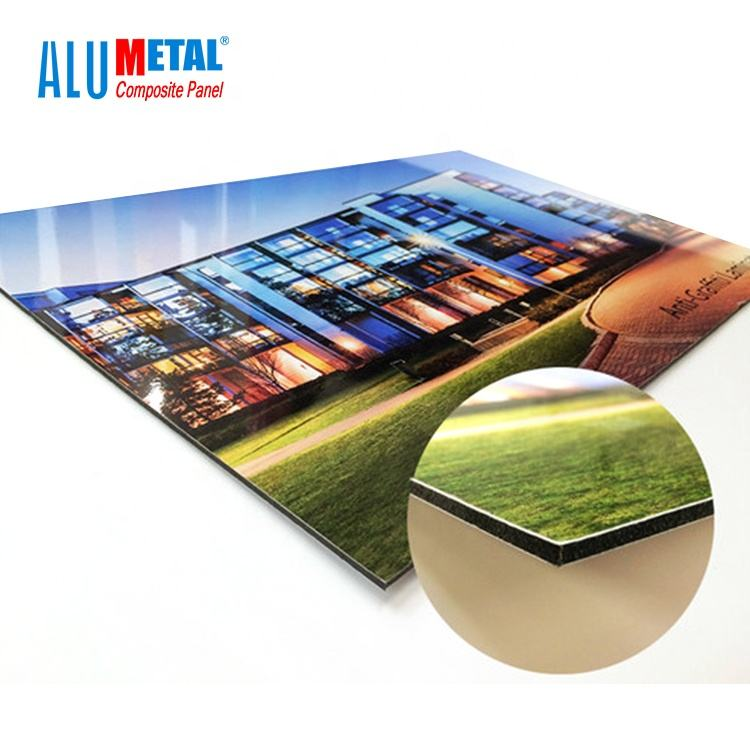 dibond 3mm aluminum sign Composite with UV printing