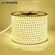 High pressure 5050 waterproof 3014 LED patch flexible soft led strip 2835 double row three rows 110v LED strip