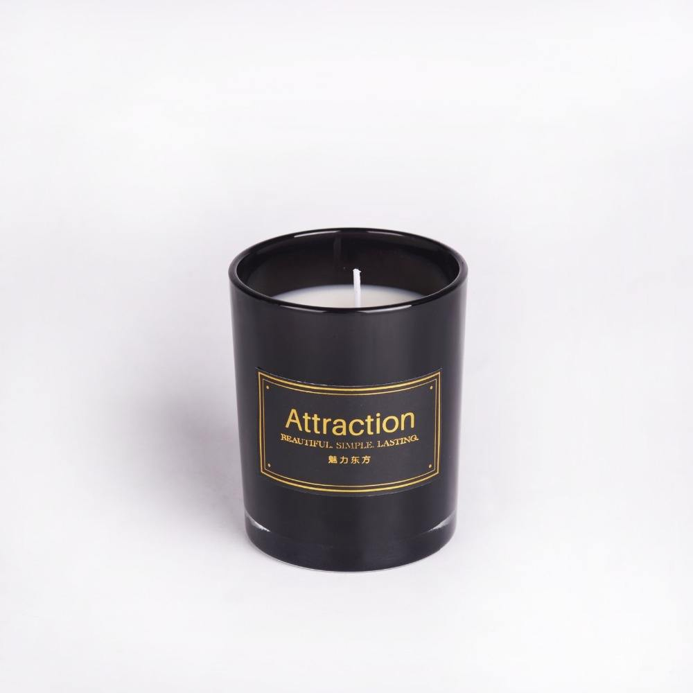 2018 New design luxury 아로마 양 컵 candle, candel 와 (gorilla glass) jar