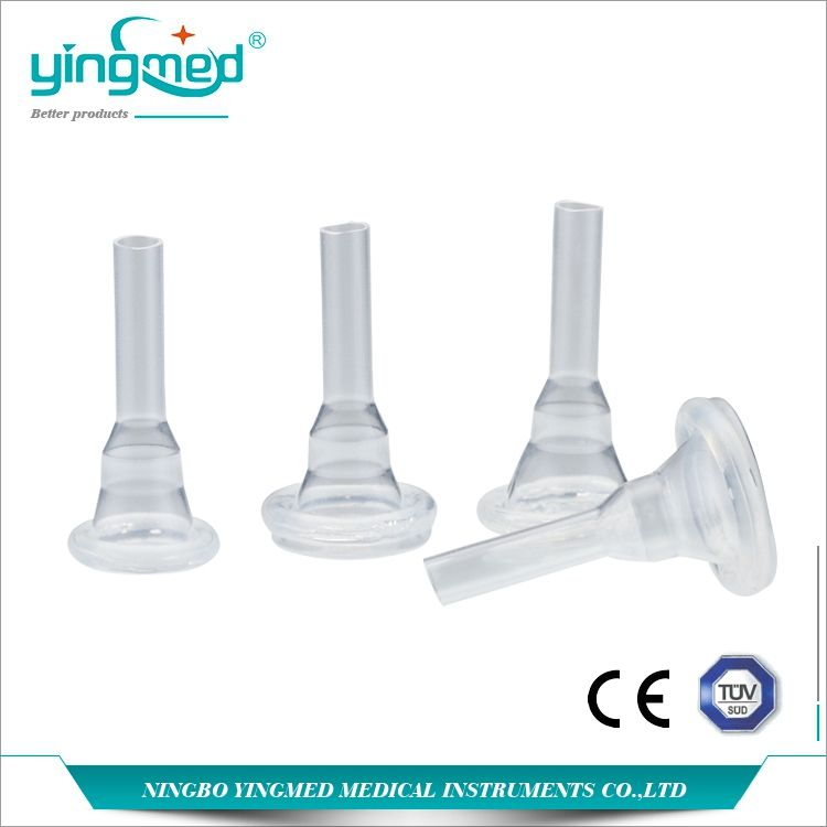 Medical disposable silicone external male condom catheter
