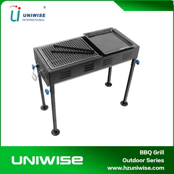 vente chaude rectangle fonte grilles de bbq de haute qualité