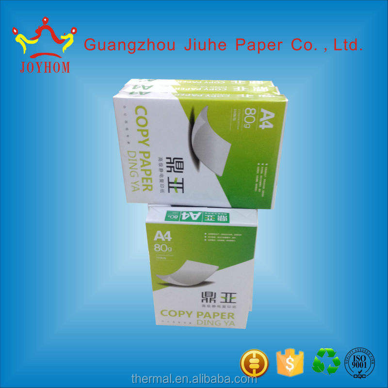 Guangzhou product white a4 size copy roll paper